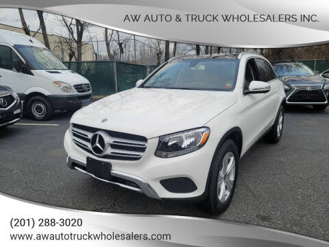 2018 Mercedes-Benz GLC for sale at AW Auto & Truck Wholesalers  Inc. in Hasbrouck Heights NJ