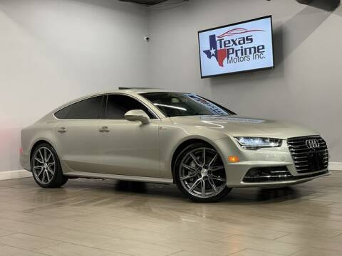 2016 Audi A7 for sale at Texas Prime Motors in Houston TX
