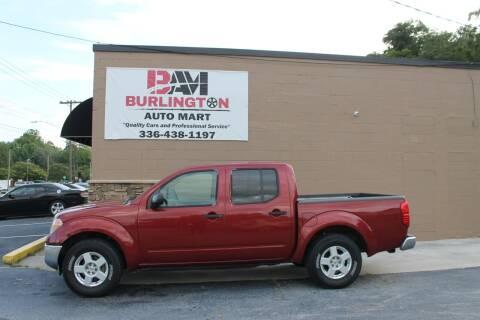 2006 Nissan Frontier for sale at Burlington Auto Mart in Burlington NC