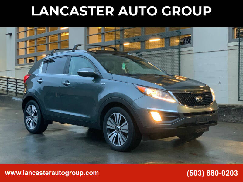 2014 Kia Sportage for sale at LANCASTER AUTO GROUP in Portland OR