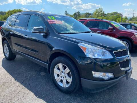 2012 Chevrolet Traverse for sale at HACKETT & SONS LLC in Nelson PA