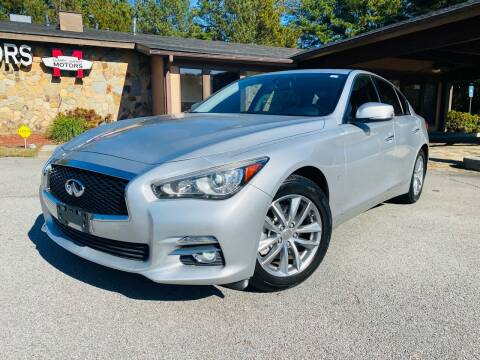 2014 Infiniti Q50 for sale at Classic Luxury Motors in Buford GA