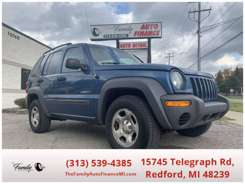 2004 Jeep Liberty for sale at The Family Auto Finance in Redford MI