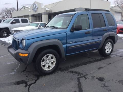 2004 Jeep Liberty for sale at Beutler Auto Sales in Clearfield UT