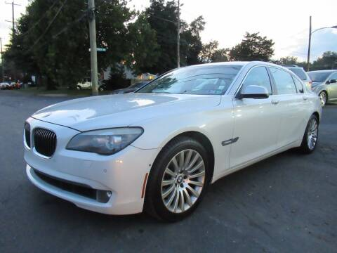 2009 BMW 7 Series for sale at PRESTIGE IMPORT AUTO SALES in Morrisville PA
