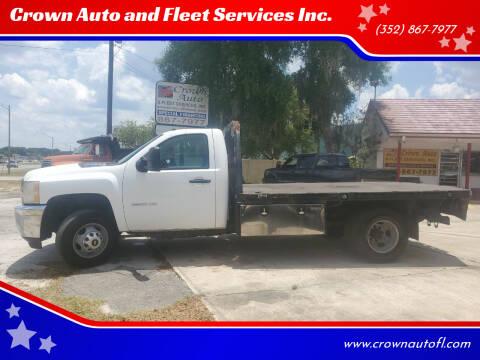 2014 Chevrolet Silverado 3500HD for sale at Crown Auto and Fleet Services Inc. in Ocala FL