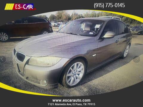 2011 BMW 3 Series for sale at Escar Auto in El Paso TX