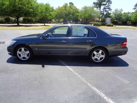 2004 Lexus LS 430 for sale at BALKCUM AUTO INC in Wilmington NC