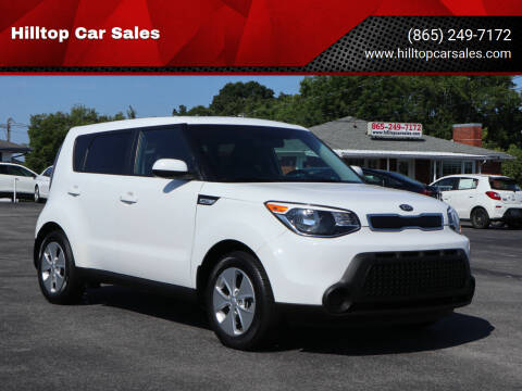 2016 Kia Soul for sale at Hilltop Car Sales in Knox TN