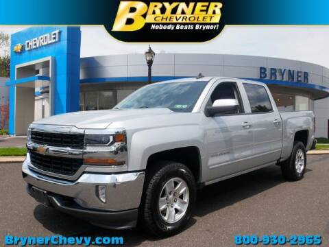 2016 Chevrolet Silverado 1500 for sale at BRYNER CHEVROLET in Jenkintown PA