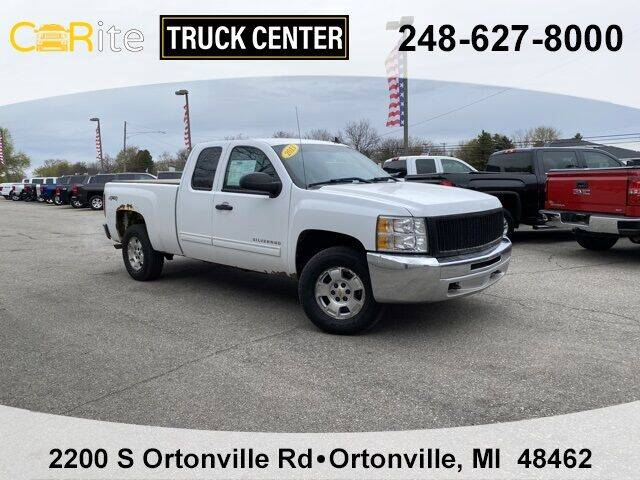 2013 Chevrolet Silverado 1500 for sale at Carite Truck Center in Ortonville MI
