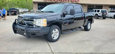 2008 Chevrolet Silverado 1500 for sale at WHOLESALE AUTO GROUP in Mobile AL