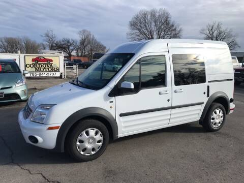 2013 Ford Transit Connect for sale at Cordova Motors in Lawrence KS