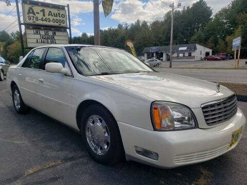 2002 Cadillac DeVille for sale at A-1 Auto in Pepperell MA