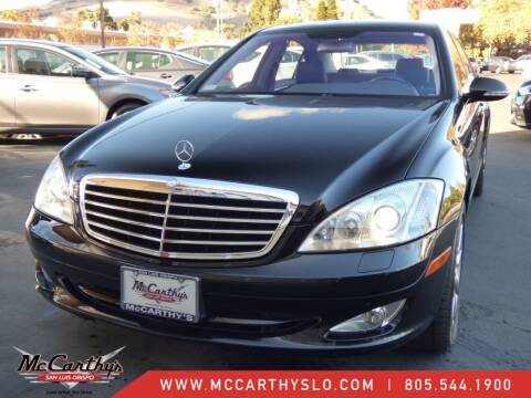 2007 Mercedes-Benz S-Class for sale at McCarthy Wholesale in San Luis Obispo CA
