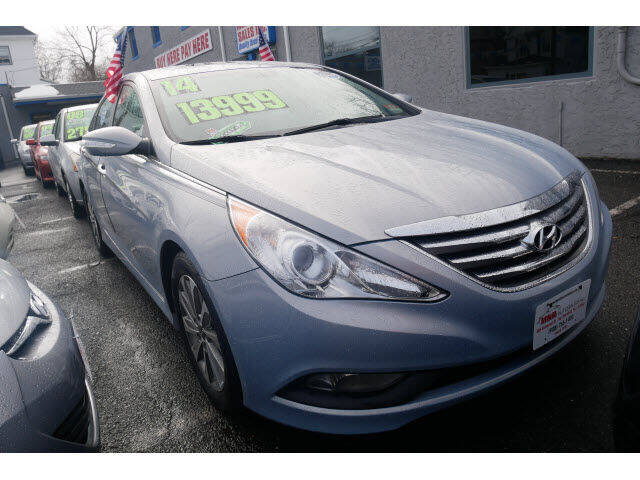 2014 Hyundai Sonata for sale at M & R Auto Sales INC. in North Plainfield NJ