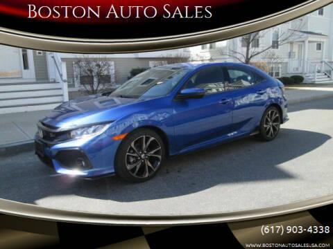 2019 Honda Civic for sale at Boston Auto Sales in Brighton MA