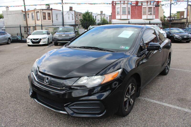 2014 Honda Civic for sale at EZ PASS AUTO SALES LLC in Philadelphia PA