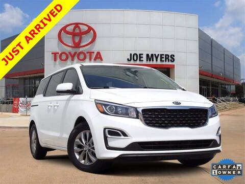 2019 Kia Sedona for sale at Joe Myers Toyota PreOwned in Houston TX