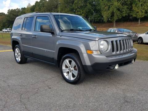 2012 Jeep Patriot for sale at JR's Auto Sales Inc. in Shelby NC