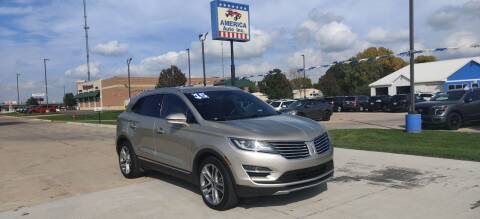 2015 Lincoln MKC for sale at America Auto Inc in South Sioux City NE