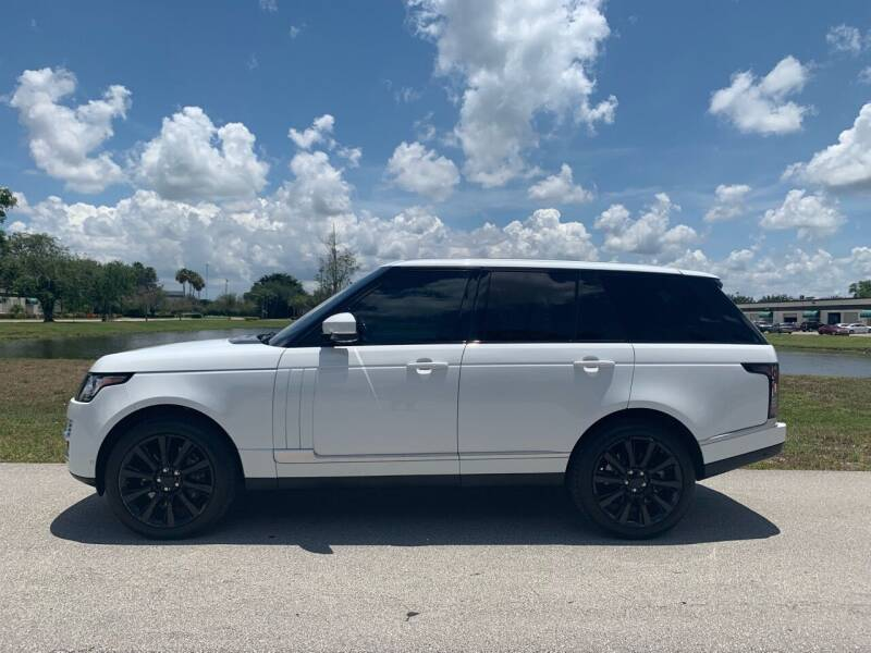 2014 Land Rover Range Rover for sale at Premier Auto Group of South Florida in Wellington FL