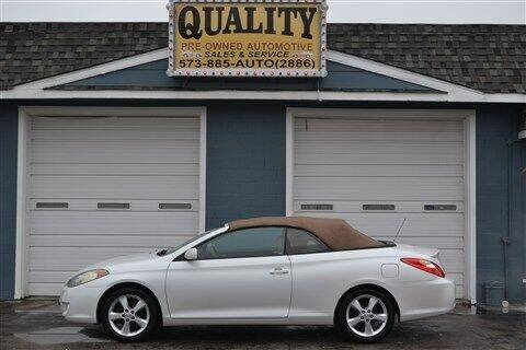 2006 Toyota Camry Solara for sale at Quality Pre-Owned Automotive in Cuba MO