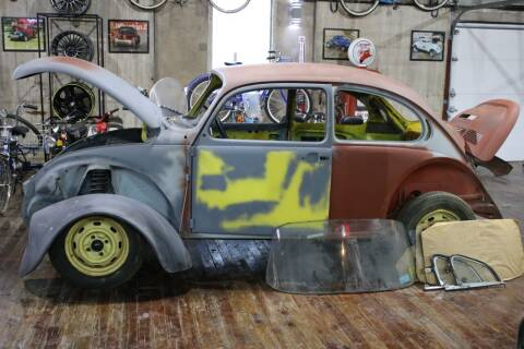 1974 Volkswagen Super Beetle for sale at Great Lakes Classic Cars & Detail Shop in Hilton NY