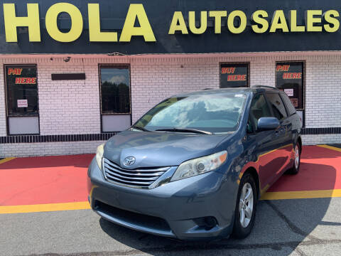 2015 Toyota Sienna for sale at HOLA AUTO SALES CHAMBLEE- BUY HERE PAY HERE - in Atlanta GA