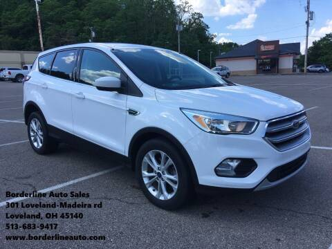 2017 Ford Escape for sale at Borderline Auto Sales in Loveland OH