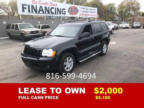 2008 Jeep Grand Cherokee for sale at Auto Mart USA in Kansas City MO