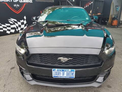 2016 Ford Mustang for sale at LUXURY OF QUEENS,INC in Long Island City NY