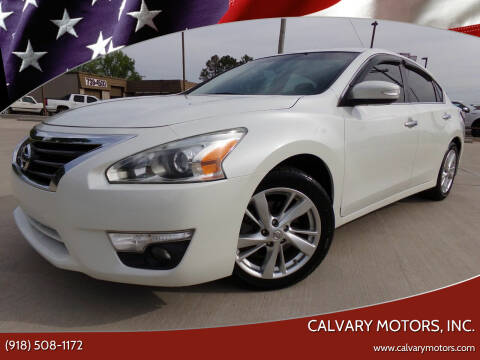 2014 Nissan Altima for sale at Calvary Motors, Inc. in Bixby OK