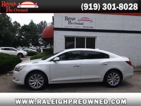 2016 Buick LaCrosse for sale at Raleigh Pre-Owned in Raleigh NC