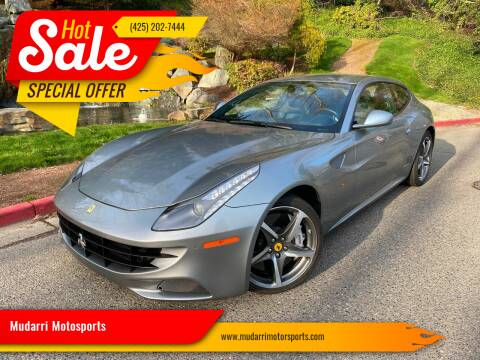 2012 Ferrari FF for sale at Mudarri Motorsports in Kirkland WA