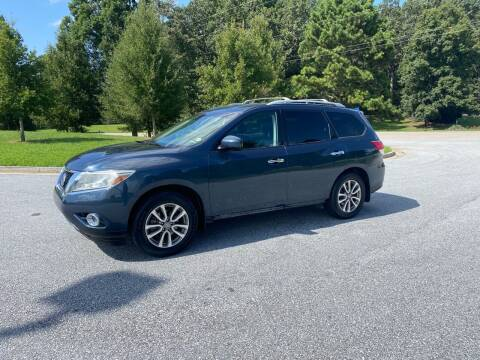 2014 Nissan Pathfinder for sale at GTO United Auto Sales LLC in Lawrenceville GA