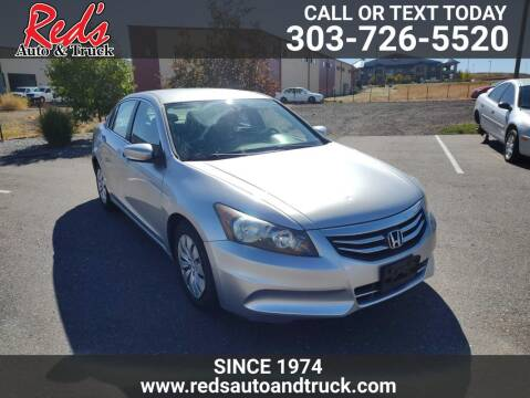 2012 Honda Accord for sale at Red's Auto and Truck in Longmont CO