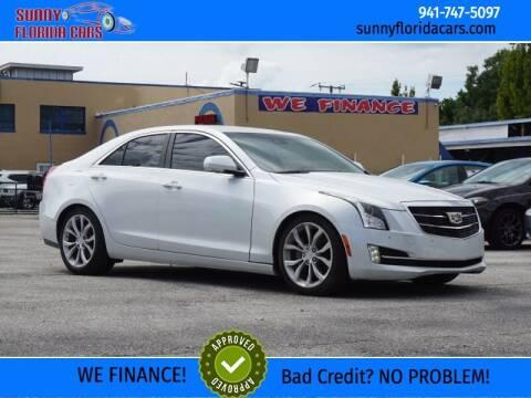 2016 Cadillac ATS for sale at Sunny Florida Cars in Bradenton FL