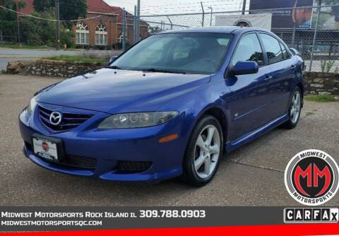 2005 Mazda MAZDA6 for sale at MIDWEST MOTORSPORTS in Rock Island IL