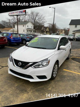 2018 Nissan Sentra for sale at Dream Auto Sales in South Milwaukee WI