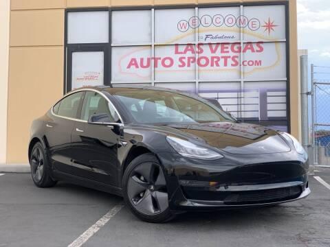 2019 Tesla Model 3 for sale at Las Vegas Auto Sports in Las Vegas NV