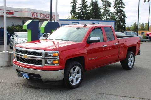 2015 Chevrolet Silverado 1500 for sale at BAYSIDE AUTO SALES in Everett WA