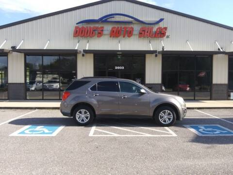 2011 Chevrolet Equinox for sale at DOUG'S AUTO SALES INC in Pleasant View TN
