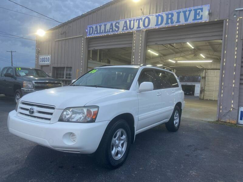 2006 Toyota Highlander for sale at Dallas Auto Drive in Dallas TX