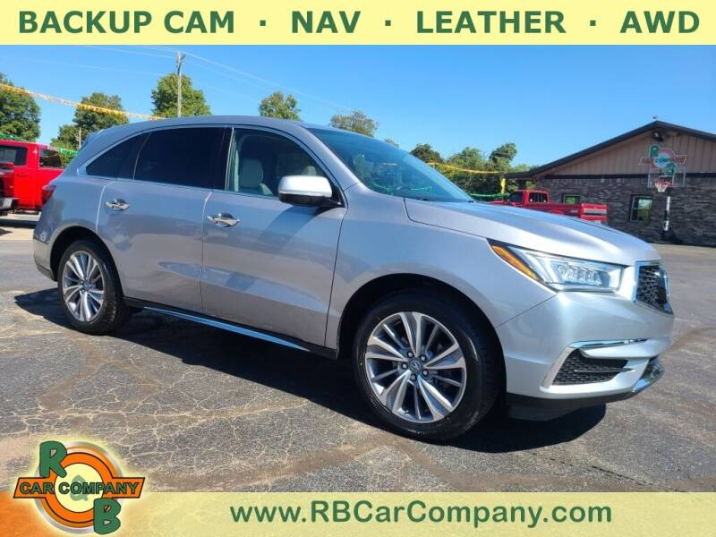 2017 Acura MDX for sale at R & B CAR CO - R&B CAR COMPANY in Columbia City IN