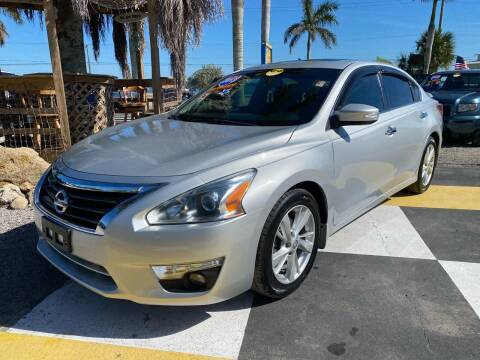 2013 Nissan Altima for sale at D&S Auto Sales, Inc in Melbourne FL