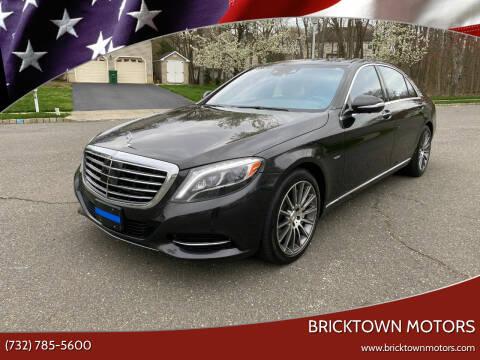 2014 Mercedes-Benz S-Class for sale at Bricktown Motors in Brick NJ