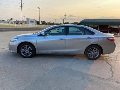 2015 Toyota Camry for sale at J & S Auto in Downs KS
