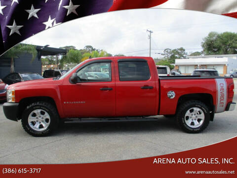 2008 Chevrolet Silverado 1500 for sale at ARENA AUTO SALES,  INC. in Holly Hill FL