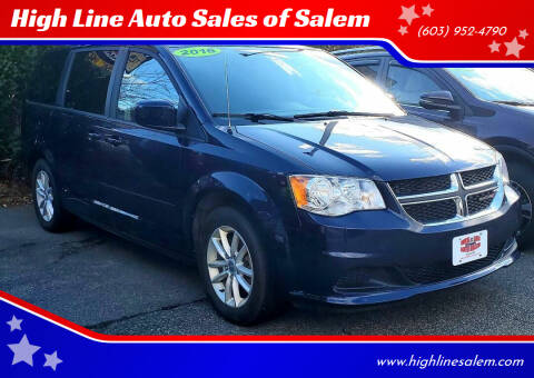 2016 Dodge Grand Caravan for sale at High Line Auto Sales of Salem in Salem NH